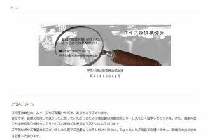 ナイス探偵事務所(横浜市)